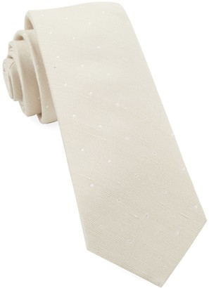 Tie Bar Bulletin Dot Light Champagne Tie