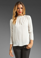 Graham & Spencer Vintage Georgette Top