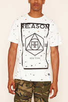 Forever 21 FOREVER 21+ Reason Bad Kids Distressed Tee