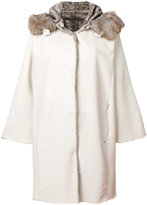 Henry Beguelin midi shearling coat