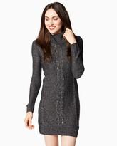 Charming charlie Embellished Sweater Dress
