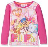 Nickelodeon Girl's Paw Patrol To The Skies Team Regular Fit T - Shirt,(Manufacturer Size: 3 Years)