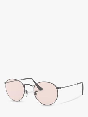 Ray-Ban RB3447 Men's Round Metal Sunglasses