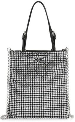 Prada Mini Crystal Crossbody Bag