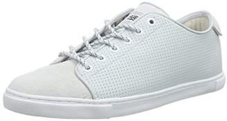 HUB Women's Otsu nubuck L Perf- Sneakers, Blue Size: 6