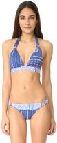 OndadeMar Turquish Halter Bikini Top