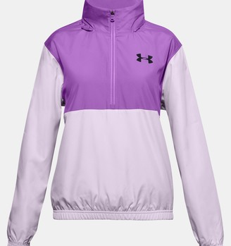 Under Armour Girls' UA Lined Woven Zip Jacket