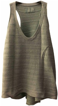 Zadig & Voltaire Green Cotton Top for Women