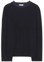 Acne Studios Cassie Cotton And Wool-blend Fleece Sweater