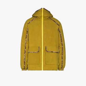 paria /FARZANEH Close up Olivine hooded jacket