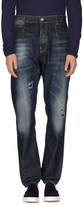 Frankie Morello Denim pants - Item 42540825