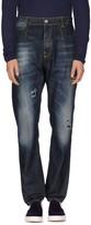 Frankie Morello Denim pants - Item 42540825
