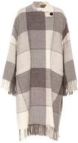Jil Sander Checked wool coat