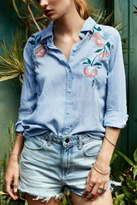 Rails Embroirdered Denim Shirt