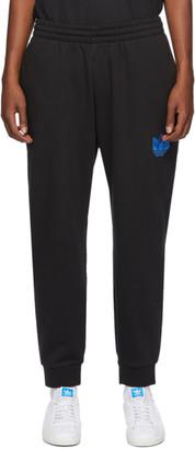adidas Black 3D Trefoil Sweatpants