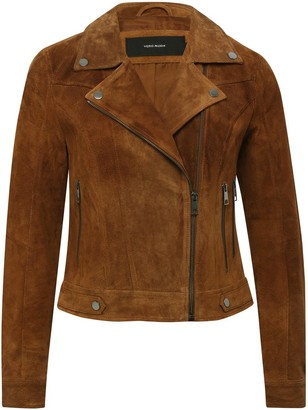 M&Co Vero Moda short suede jacket