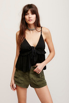 Free People Womens SLOUCHY GUNNER SHORT