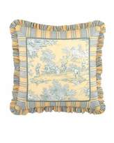 "Legacy Lutece Cypress Toile Pillow, 20""Sq."
