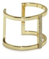 Vince Camuto Goldtone Jeweled T-bar Cuff