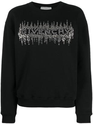 Givenchy Logo Cotton Sweatshirt