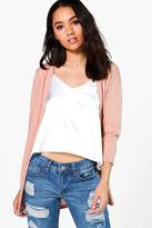 Boohoo Petite Fran Light Weight Knit Cardigan