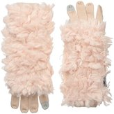 Muk Luks Women's Rustic Romance Three-In-One Gloves-Fuzzy
