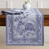 Blue Willow Jacquard Table Runner