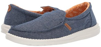 Hey Dude Misty Chambray (Navy) Women's Shoes