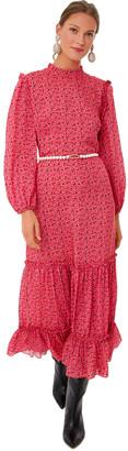 Rixo London Painted Rose Becky Dress