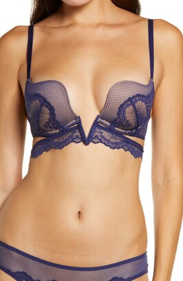Thistle & Spire Essex Lace Plunge V-Wire Bra