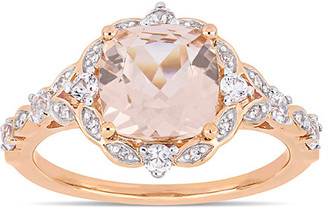 Rina Limor Fine Jewelry 14K Rose Gold 2.50 Ct. Tw. Diamond & Gemstone Ring
