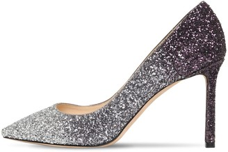 Jimmy Choo 85mm Romy Degrade Glitter Pumps