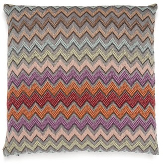 Missoni Home William Zigzag-jacquard Cushion - Brown Multi