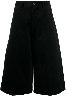 Societe Anonyme Cropped Corduroy Trousers