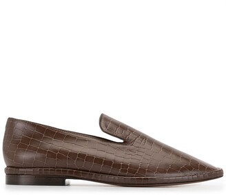 Clergerie Olympia crocodile-effect loafers