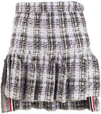 Thom Browne Dropped Back Short Skirt