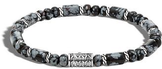 John Hardy Men's Batu Smoky Agate Bracelet