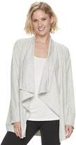 Sonoma Goods For Life Women's SONOMA Goods for Life Supersoft Cascade Cardigan