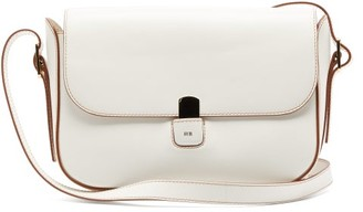 Hillier Bartley Buckled-strap Leather Shoulder Bag - Womens - Cream