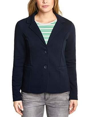 Street One Women's 2990 Rhoda Suit Jacket, deep Blue 138, UK