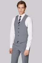 Moss London Performance Skinny Fit Light Grey Waistcoat