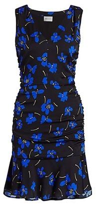 Milly Butterfly Flower Sleeveless Dress