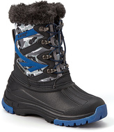 Hi-Tec Black & Blue Avalanche Snow Boot