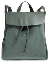 Skagen Ebba Leather Backpack - Green