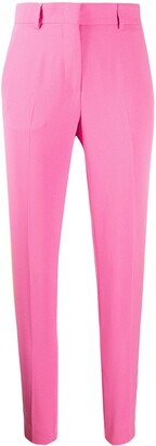 MSGM stripe-side skinny trousers
