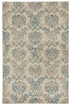 Liora Manné Royalty Damask 7-Foot 10-Inch x 9-Foot 10-Inch Area Rug in Ivory