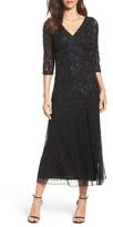 Pisarro Nights Women's Beaded Mesh Dress