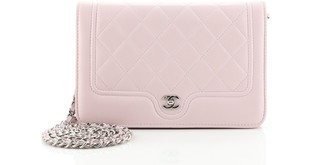 Chanel CC Curve Wallet on Chain Quilted Lambskin