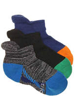 Stride Rite Made 2 Play Performance Infant, Toddler, & Youth Ankle Socks - 3 Pack - Boy's