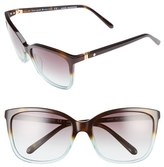Kate Spade Kasie 55mm Cat Eye Sunglasses